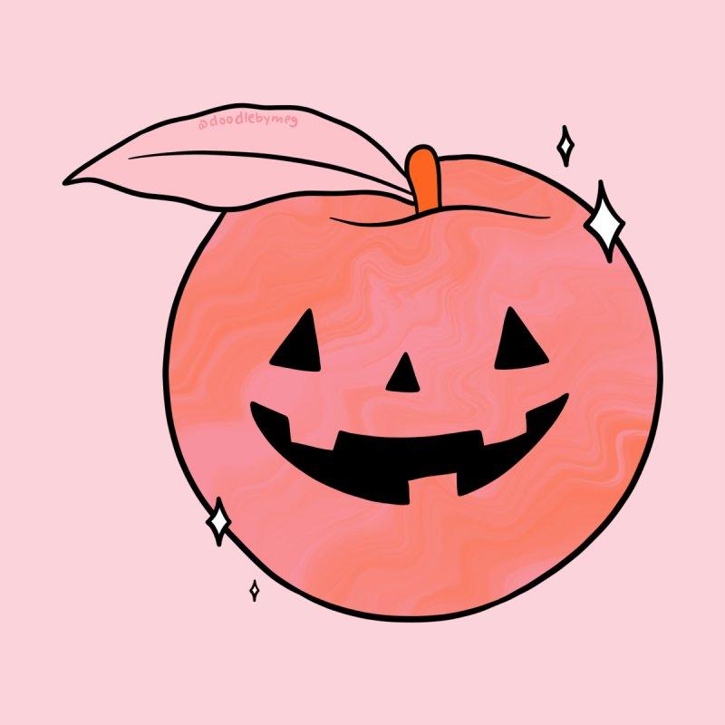 Spooky Peach Men's T-Shirt by doodlebymeg's Artist Shop