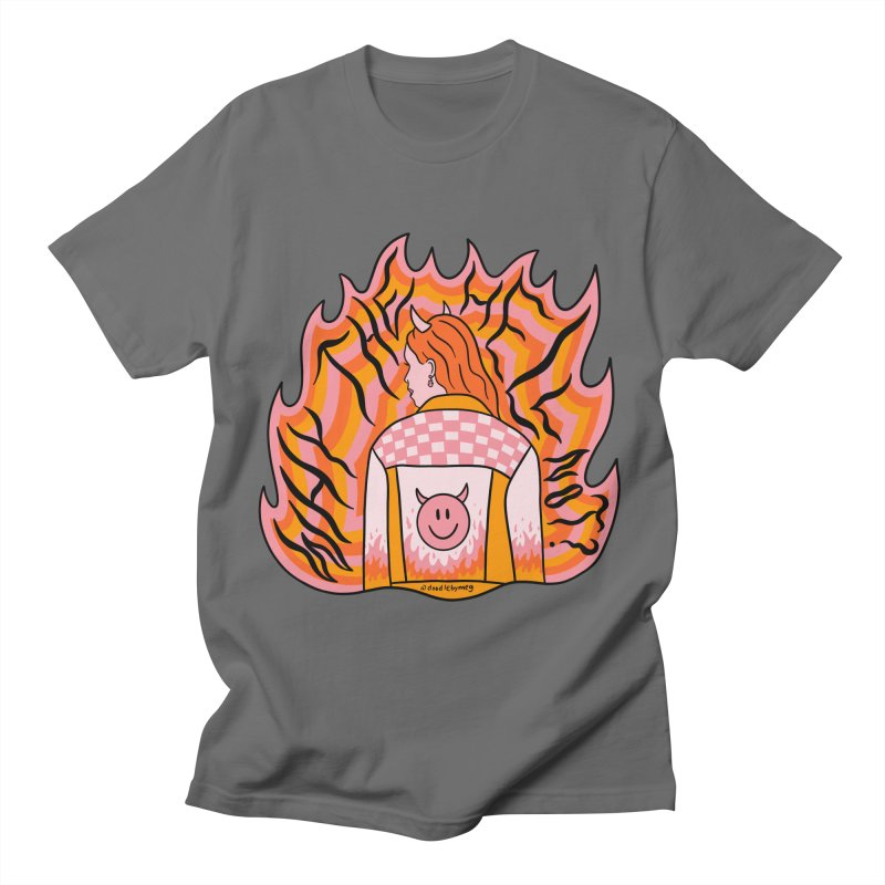 Why The Hell Not Men's T-Shirt by doodlebymeg's Artist Shop