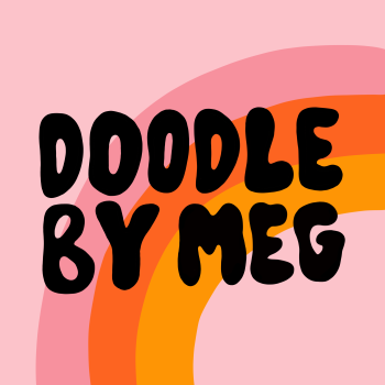 doodlebymeg's Artist Shop Logo