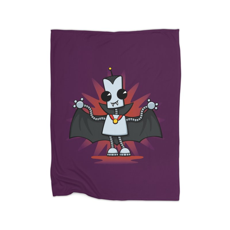 Ned the Vampire Home Blanket by doodledojo's Artist Shop