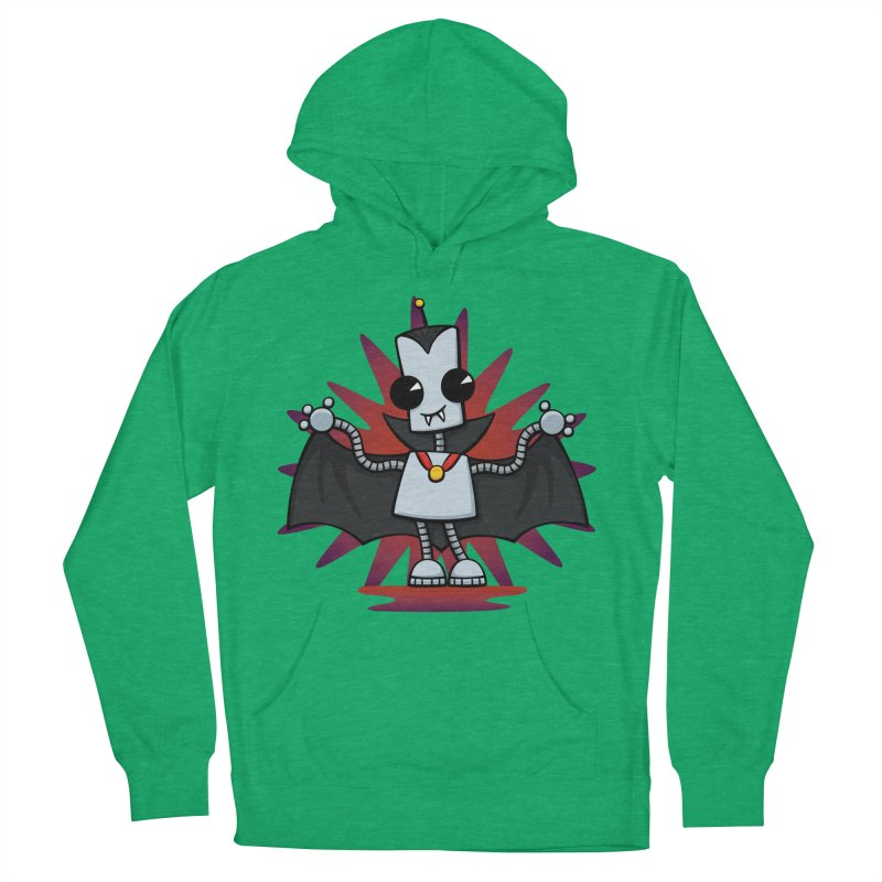 Ned the Vampire Women's Pullover Hoody by doodledojo's Artist Shop