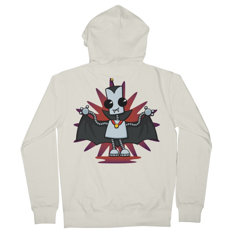 Ned the Vampire Men's Zip-Up Hoody by doodledojo's Artist Shop