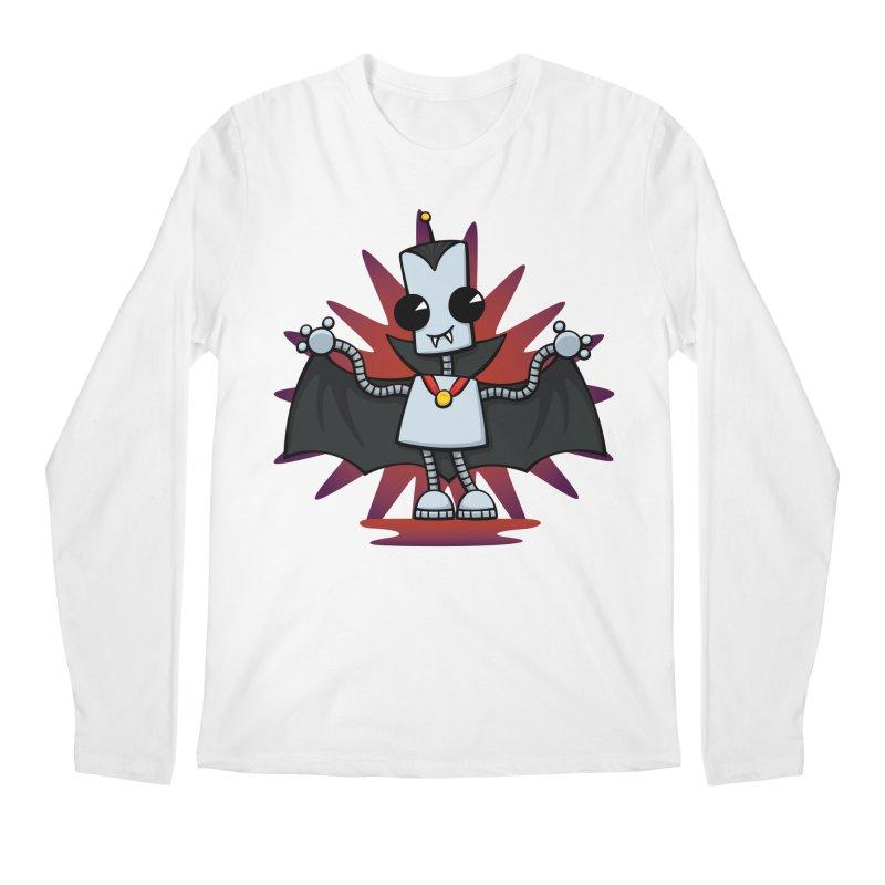 Ned the Vampire Men's Longsleeve T-Shirt by doodledojo's Artist Shop