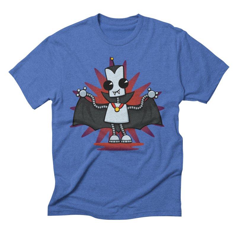 Ned the Vampire Men's Triblend T-shirt by doodledojo's Artist Shop