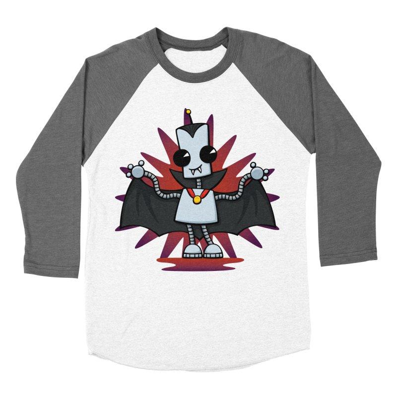 Ned the Vampire Men's Baseball Triblend T-Shirt by doodledojo's Artist Shop