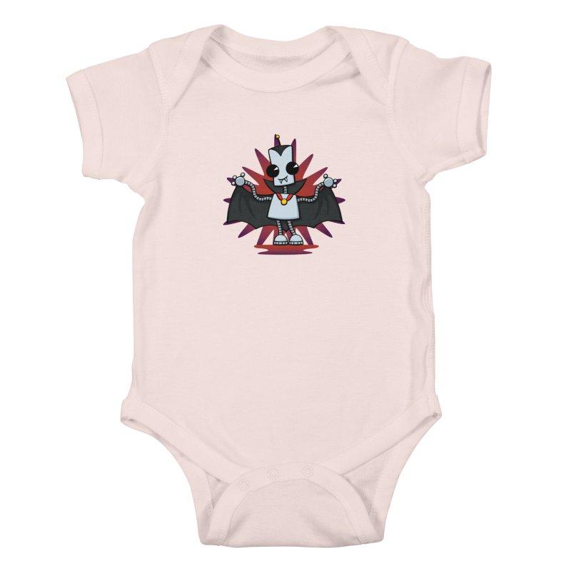 Ned the Vampire Kids Baby Bodysuit by doodledojo's Artist Shop