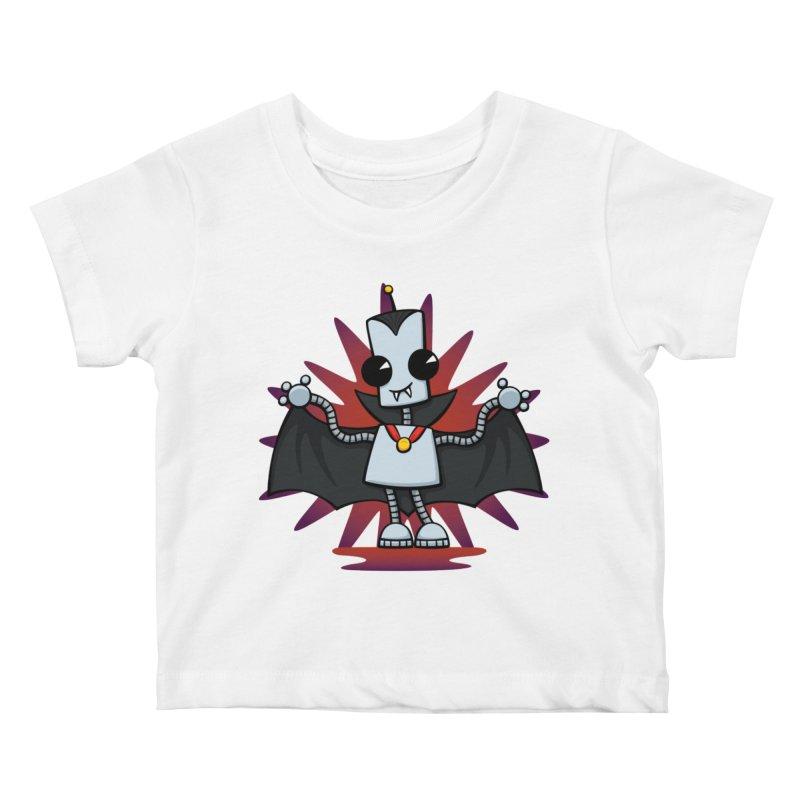 Ned the Vampire Kids Baby T-Shirt by doodledojo's Artist Shop