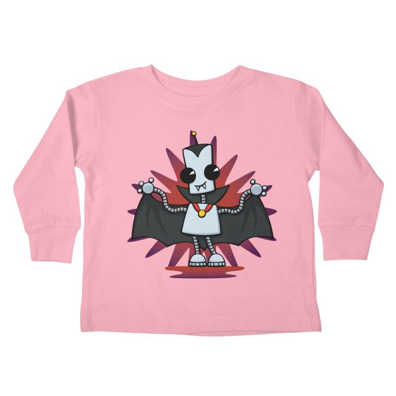 Ned the Vampire Kids Toddler Longsleeve T-Shirt by doodledojo's Artist Shop
