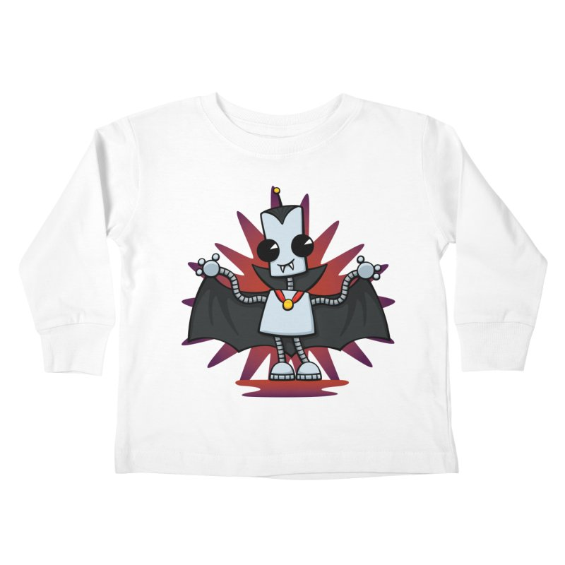 Ned the Vampire Kids Toddler Longsleeve T-Shirt by doodledojo's Artist Shop