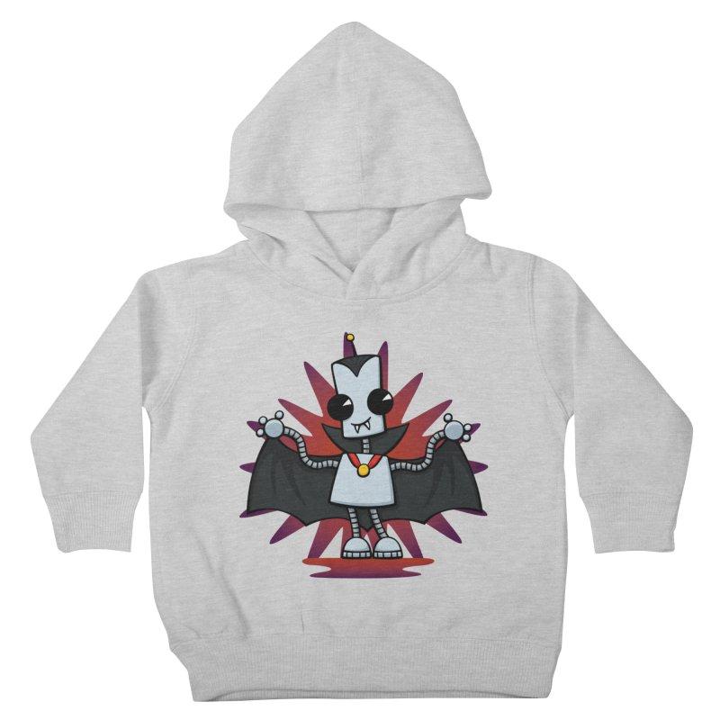 Ned the Vampire Kids Toddler Pullover Hoody by doodledojo's Artist Shop