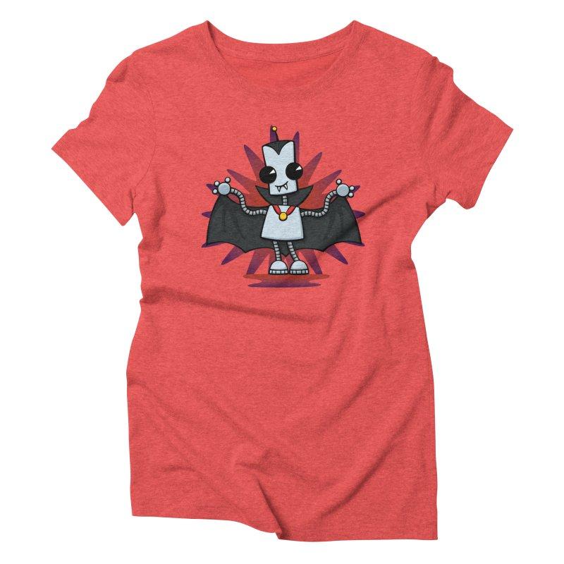 Ned the Vampire Women's Triblend T-Shirt by doodledojo's Artist Shop