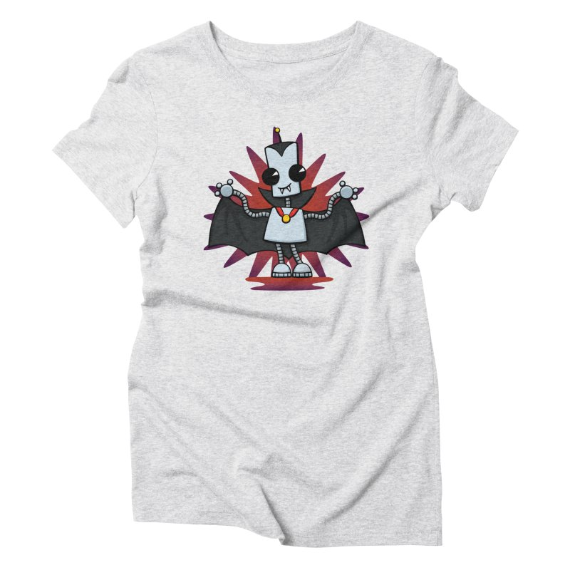 Ned the Vampire Women's Triblend T-shirt by doodledojo's Artist Shop