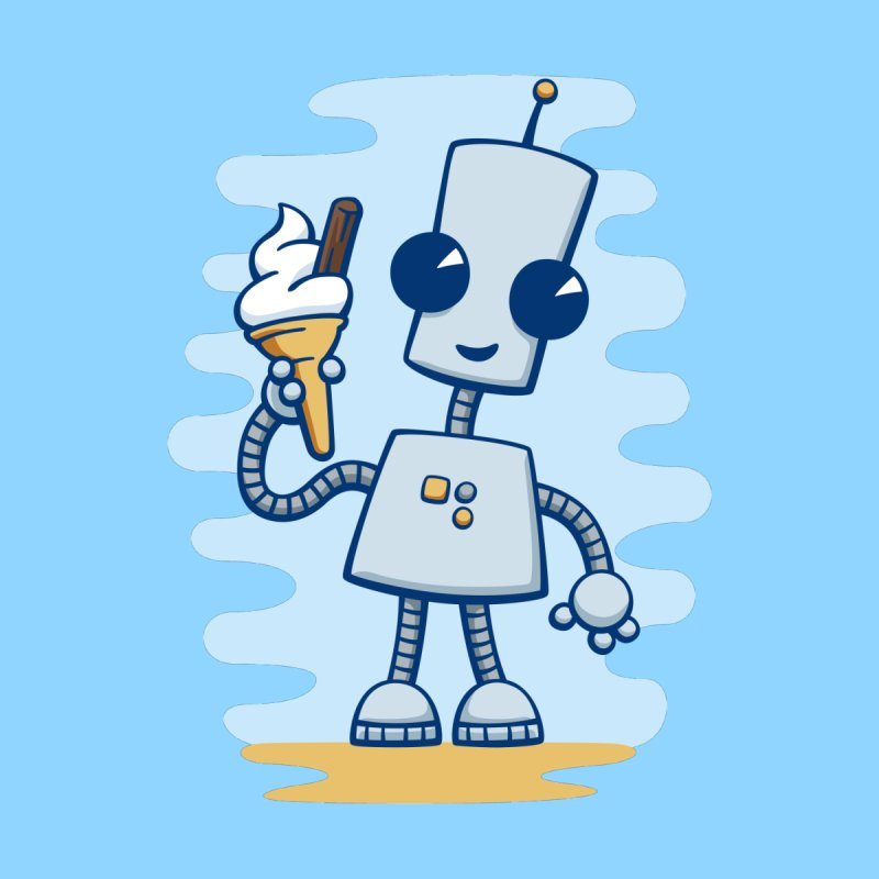 Ned's Ice Cream by doodledojo's Artist Shop