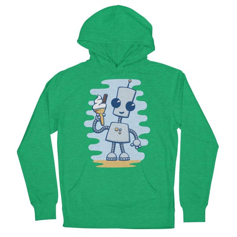 Ned's Ice Cream Women's Pullover Hoody by doodledojo's Artist Shop