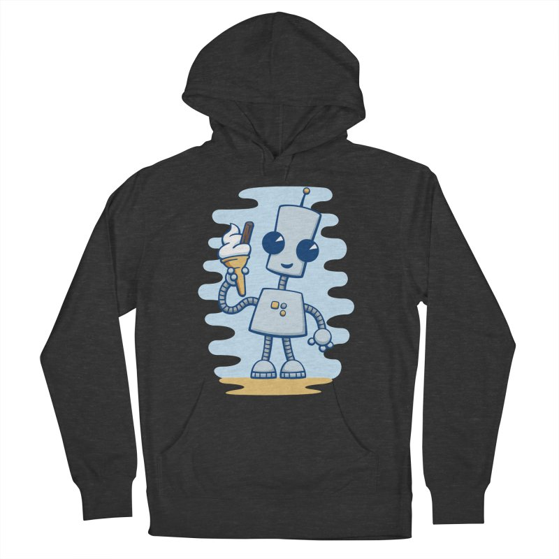 Ned's Ice Cream Men's Pullover Hoody by doodledojo's Artist Shop