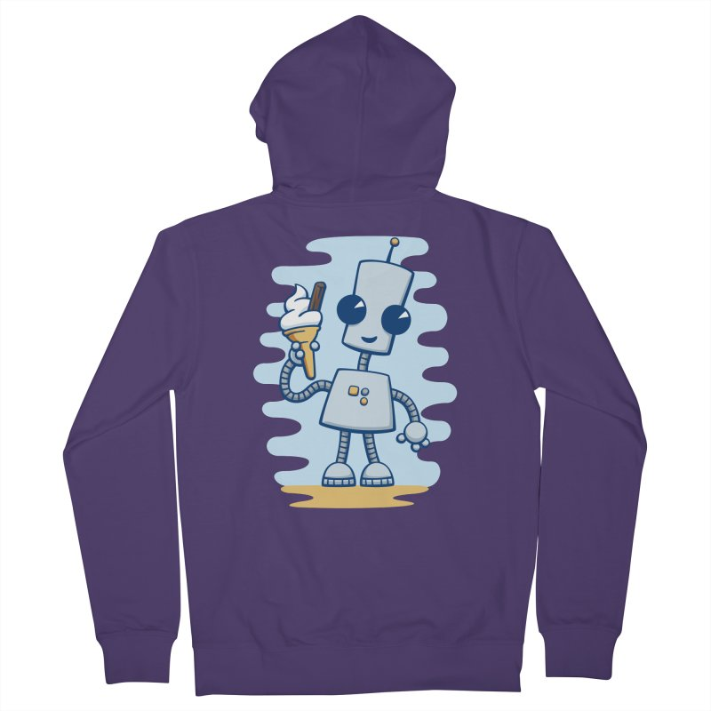 Ned's Ice Cream Women's Zip-Up Hoody by doodledojo's Artist Shop