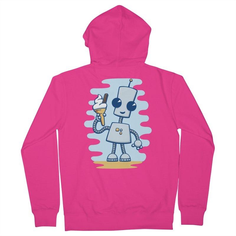 Ned's Ice Cream Men's Zip-Up Hoody by doodledojo's Artist Shop