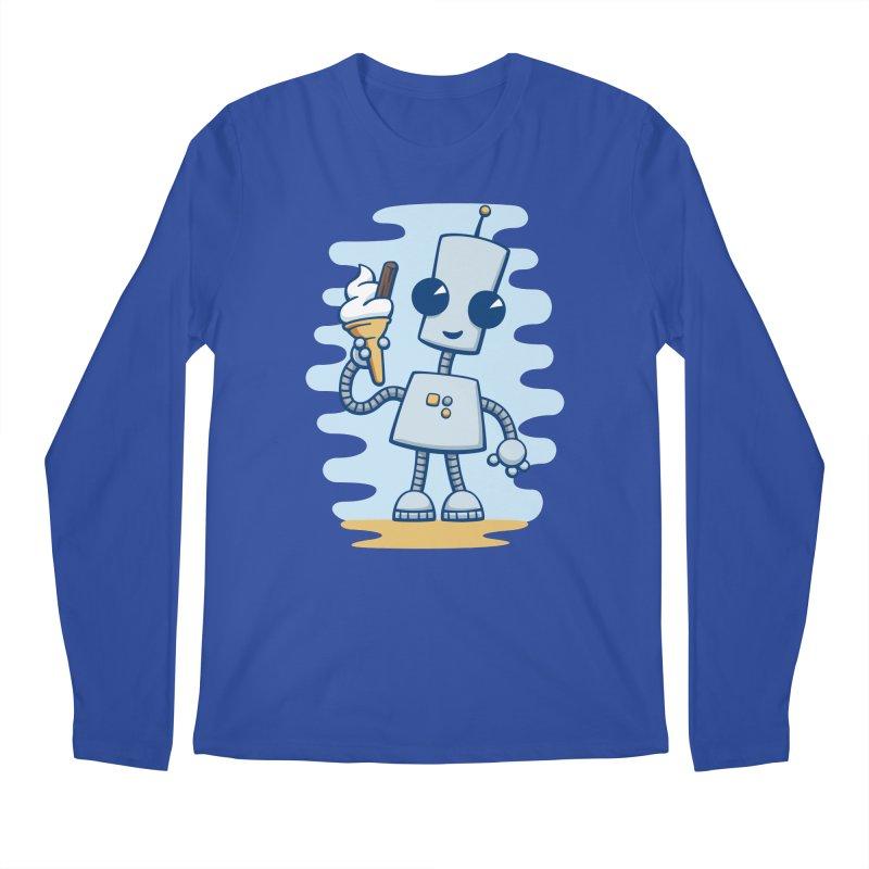 Ned's Ice Cream Men's Longsleeve T-Shirt by doodledojo's Artist Shop