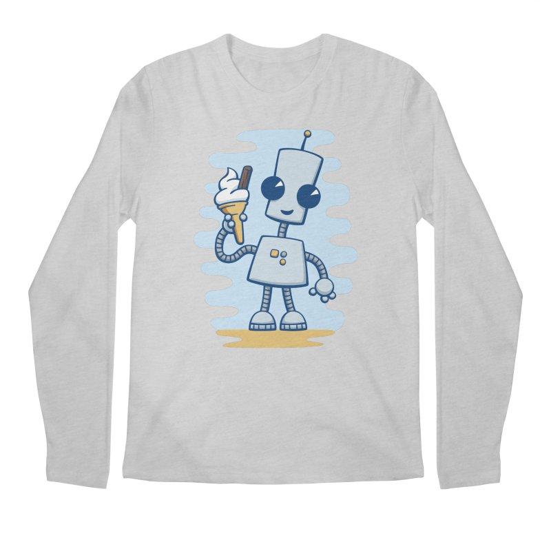 Ned's Ice Cream Men's Regular Longsleeve T-Shirt by doodledojo's Artist Shop