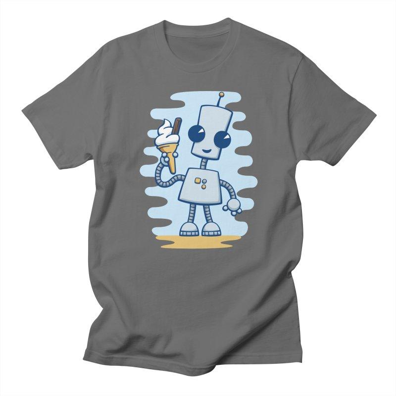Ned's Ice Cream Men's T-shirt by doodledojo's Artist Shop