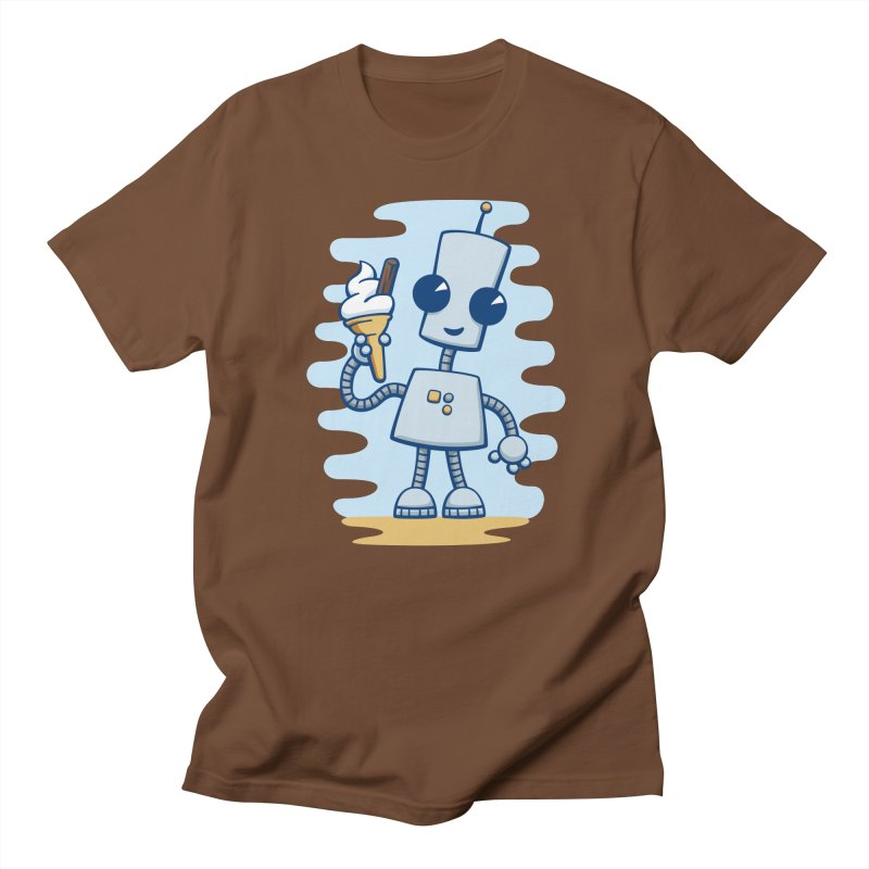 Ned's Ice Cream Men's T-shirt by doodledojo's Artist Shop