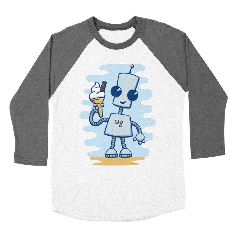 Ned's Ice Cream Men's Baseball Triblend T-Shirt by doodledojo's Artist Shop