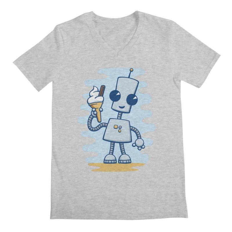 Ned's Ice Cream Men's V-Neck by doodledojo's Artist Shop