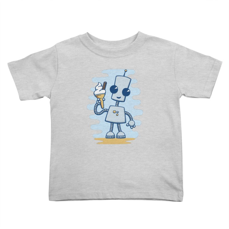 Ned's Ice Cream Kids Toddler T-Shirt by doodledojo's Artist Shop