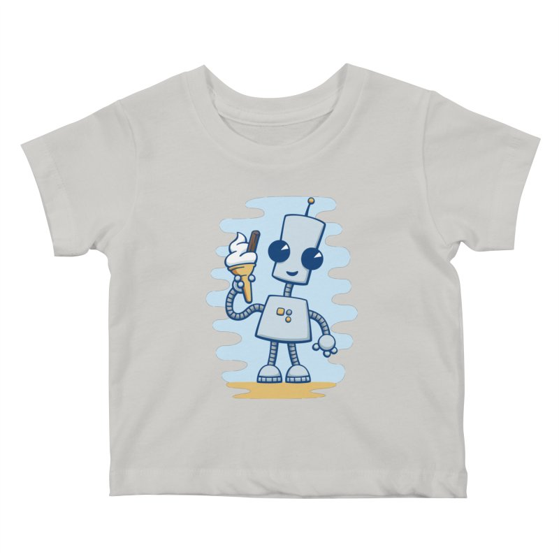 Ned's Ice Cream Kids Baby T-Shirt by doodledojo's Artist Shop