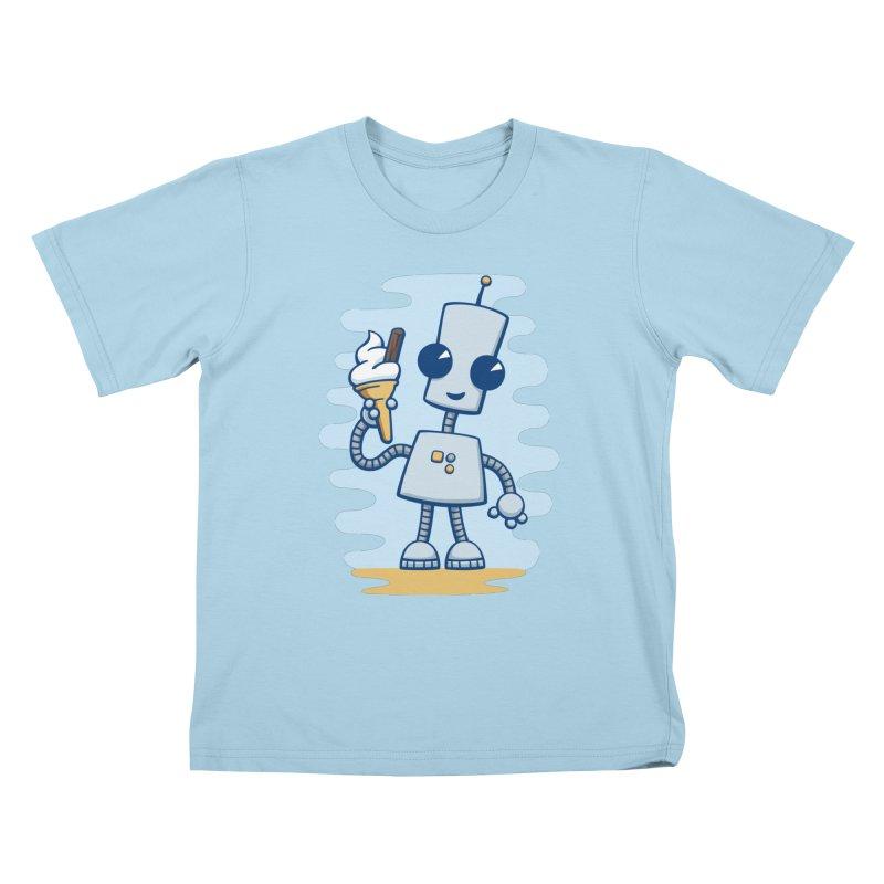 Ned's Ice Cream Kids T-shirt by doodledojo's Artist Shop