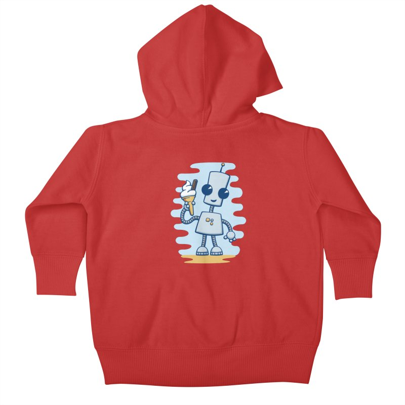 Ned's Ice Cream Kids Baby Zip-Up Hoody by doodledojo's Artist Shop