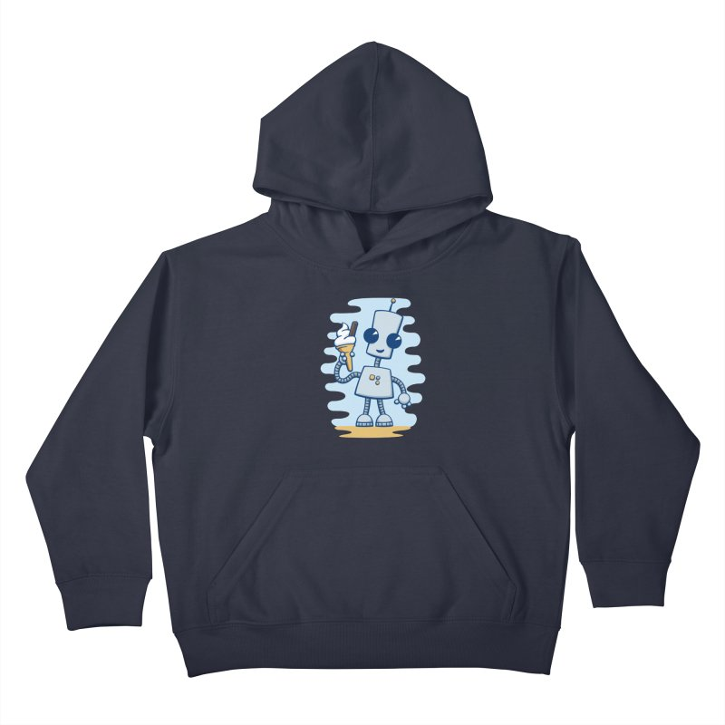 Ned's Ice Cream Kids Pullover Hoody by doodledojo's Artist Shop
