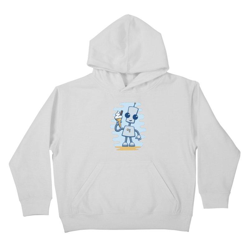Ned's Ice Cream Kids Pullover Hoody by doodledojo's Artist Shop