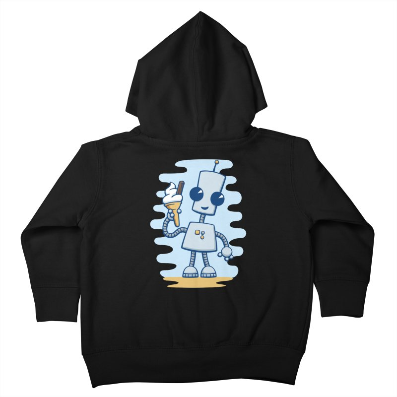 Ned's Ice Cream Kids Toddler Zip-Up Hoody by doodledojo's Artist Shop