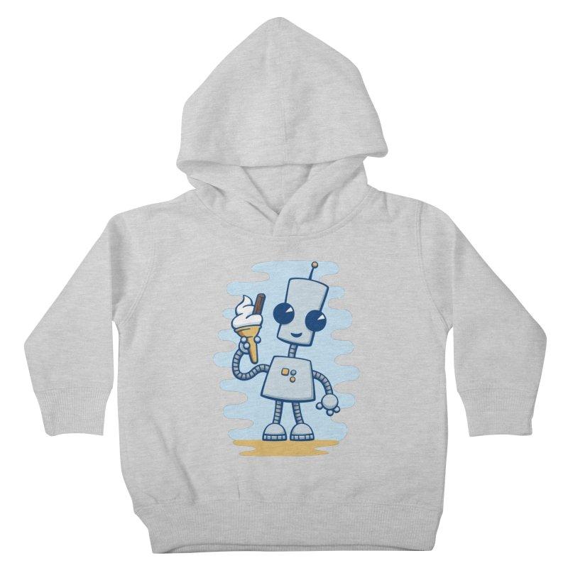 Ned's Ice Cream Kids Toddler Pullover Hoody by doodledojo's Artist Shop