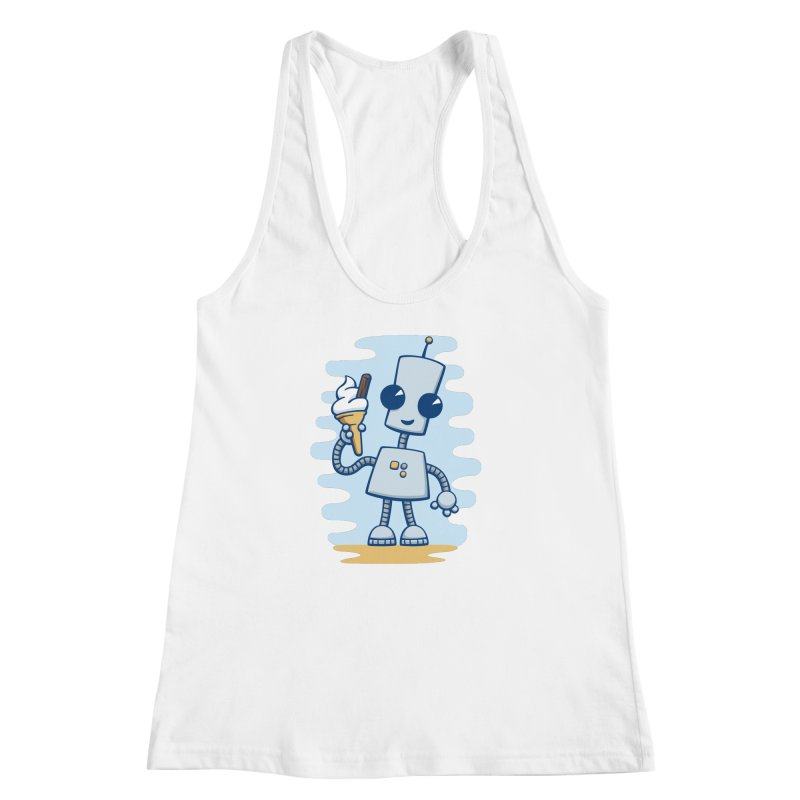 Ned's Ice Cream Women's Racerback Tank by doodledojo's Artist Shop