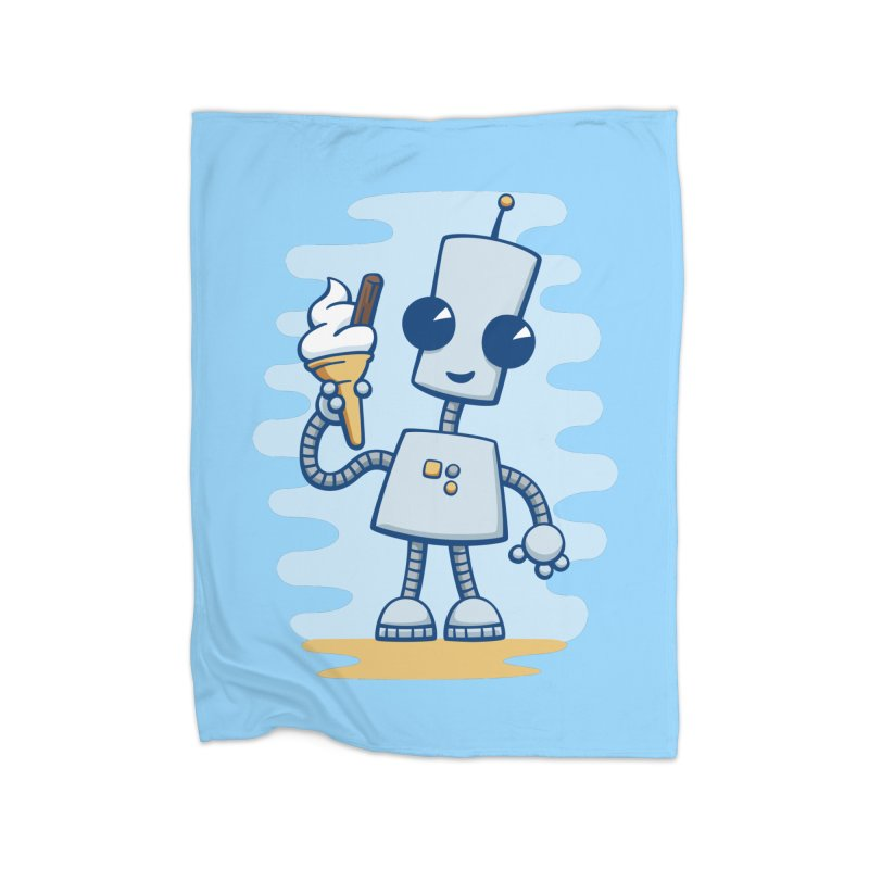 Ned's Ice Cream Home Blanket by doodledojo's Artist Shop