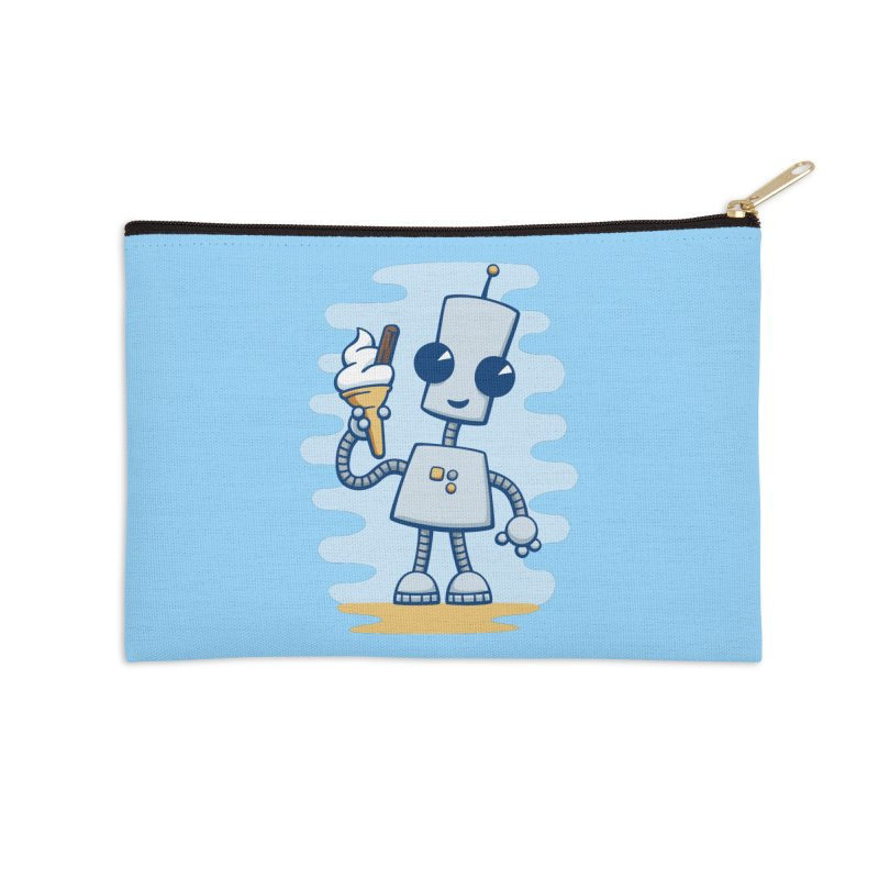 Ned's Ice Cream Accessories Zip Pouch by doodledojo's Artist Shop