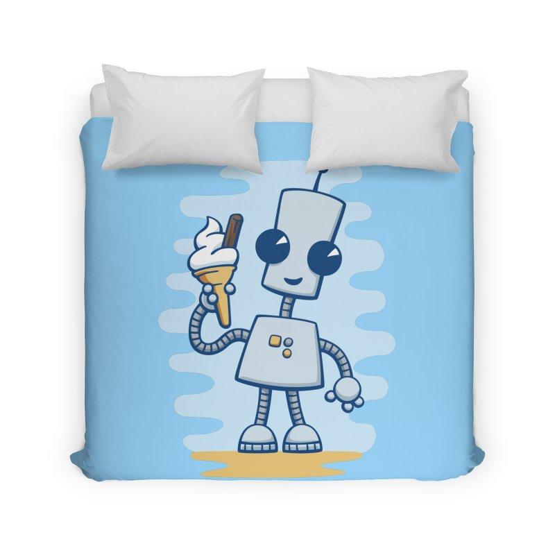 Ned's Ice Cream Home Duvet by doodledojo's Artist Shop