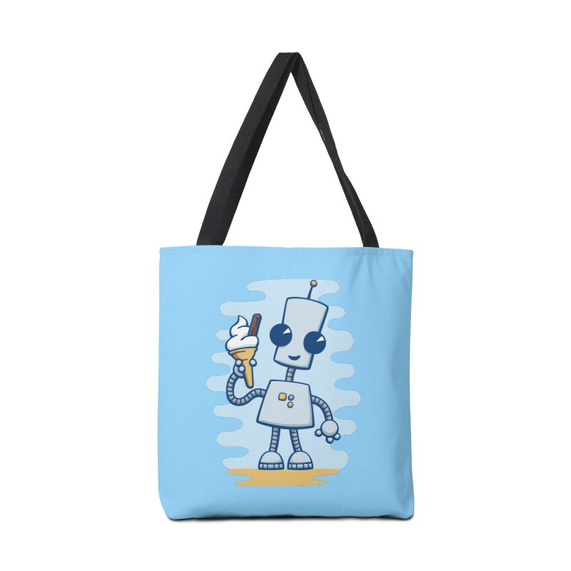 Ned's Ice Cream Accessories Bag by doodledojo's Artist Shop
