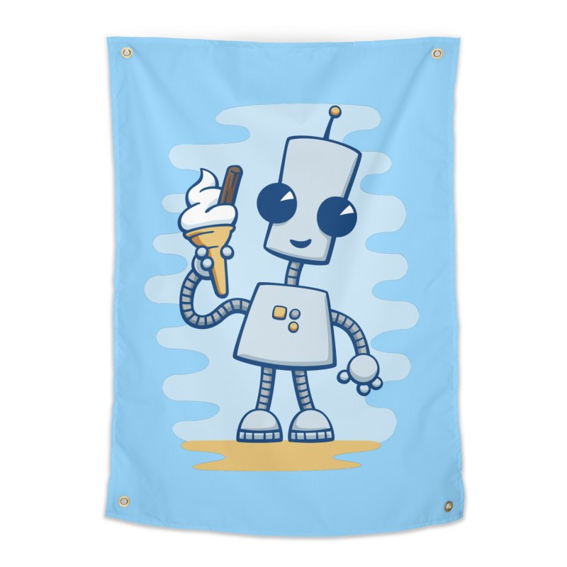 Ned's Ice Cream Home Tapestry by doodledojo's Artist Shop
