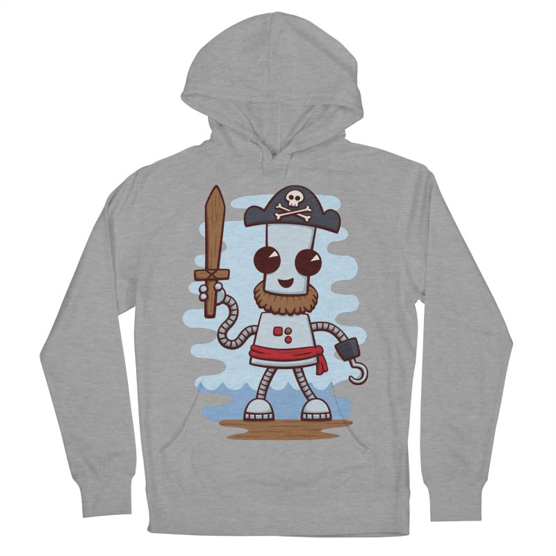 Pirate Ned Men's Pullover Hoody by doodledojo's Artist Shop