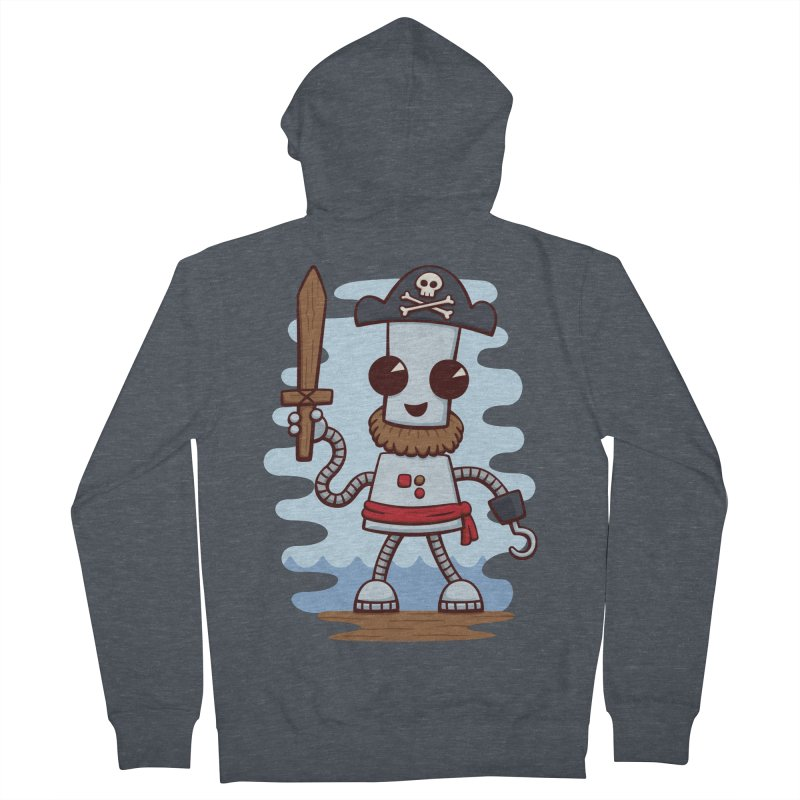 Pirate Ned Women's Zip-Up Hoody by doodledojo's Artist Shop