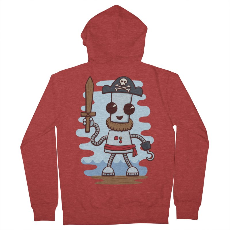 Pirate Ned Women's Zip-Up Hoody by doodledojo's Artist Shop