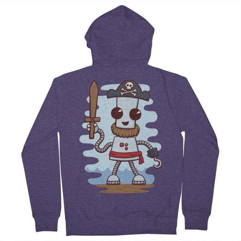 Pirate Ned Men's Zip-Up Hoody by doodledojo's Artist Shop