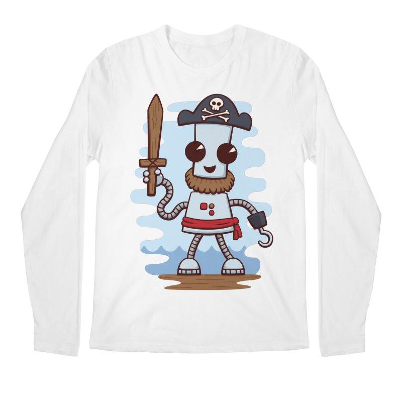 Pirate Ned Men's Longsleeve T-Shirt by doodledojo's Artist Shop