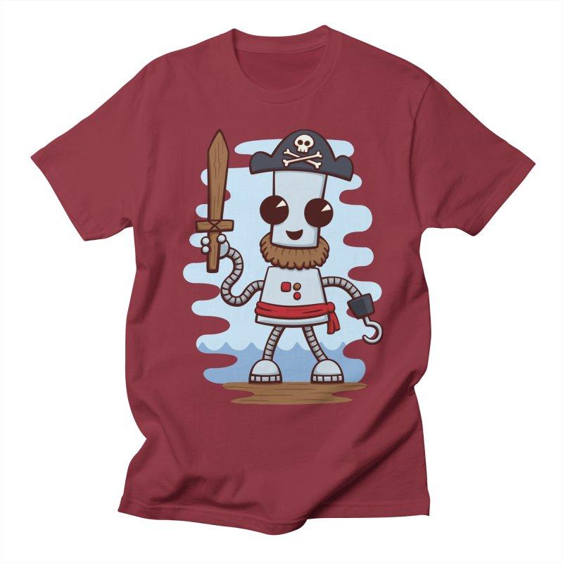 Pirate Ned Men's T-Shirt by doodledojo's Artist Shop