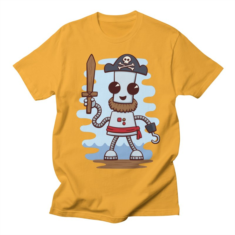 Pirate Ned Men's T-shirt by doodledojo's Artist Shop