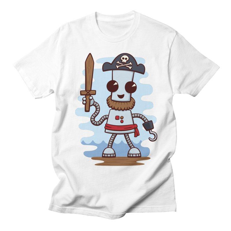 Pirate Ned Women's Unisex T-Shirt by doodledojo's Artist Shop