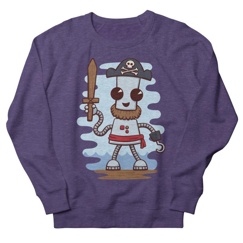 Pirate Ned Men's French Terry Sweatshirt by doodledojo's Artist Shop